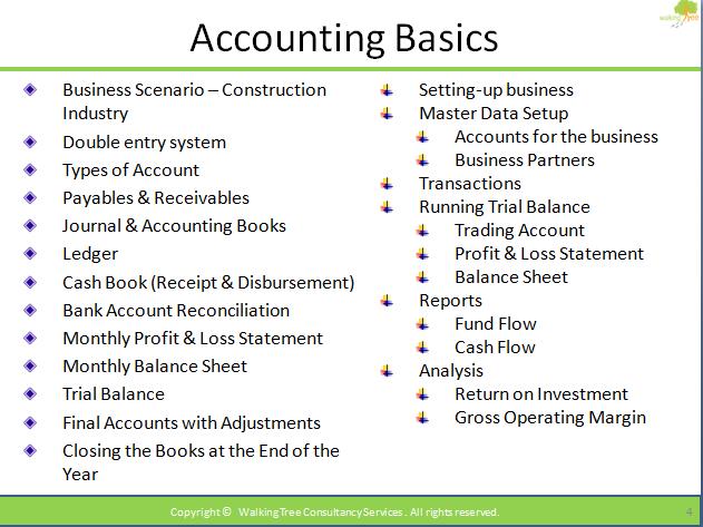 Business Accounts Basics
