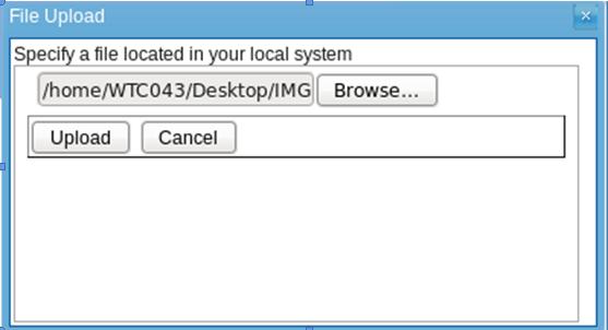 Image from desktop