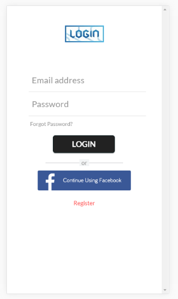 mobile-login-page